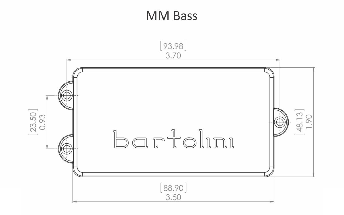 Brilliant Bartolini Mm4Cbc Music Man 4 String Dual Coil Pickup 682384501429 Ebay Wiring Digital Resources Instshebarightsorg