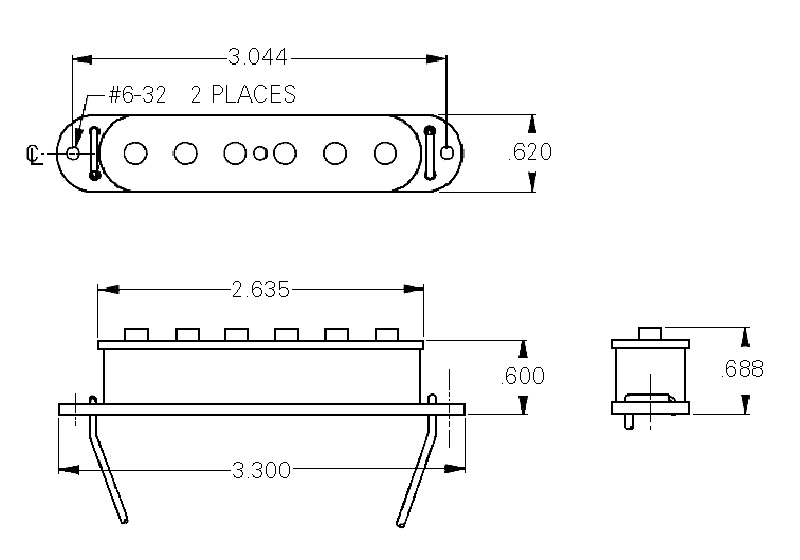 seymour duncan jaguar wiring seymour duncan sjag-2 hot jaguar neck pickup 800315003495 ... seymour duncan humbucker wiring diagram