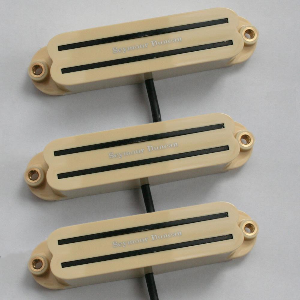 Image is loading Seymour-Duncan-SHR-1-Strat-Hot-Rails-set-