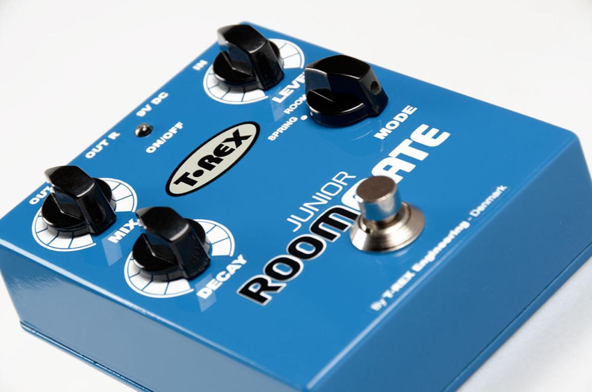 T-Rex-Room-Mate-Junior-4-Mode-Reverb-pedal miniatura 2