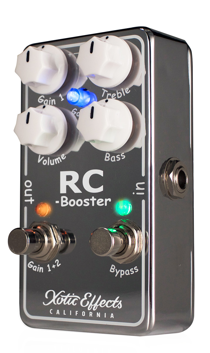 xotic effects rc booster v2 boost pedal free us shipping. Black Bedroom Furniture Sets. Home Design Ideas